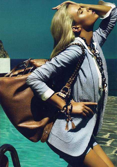 Gucci Cruise Ad Campaign 2010 | FashionMag.us