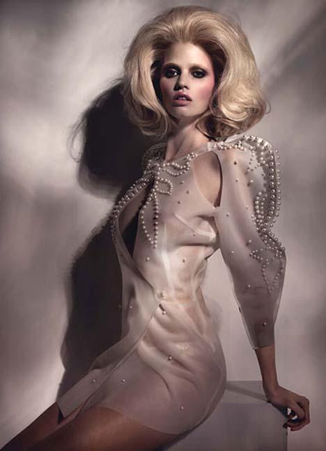 One Of A Kind: Lara Stone For W Magazine April 2011