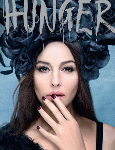 Monica Bellucci Covers The Hunger Magazine #2