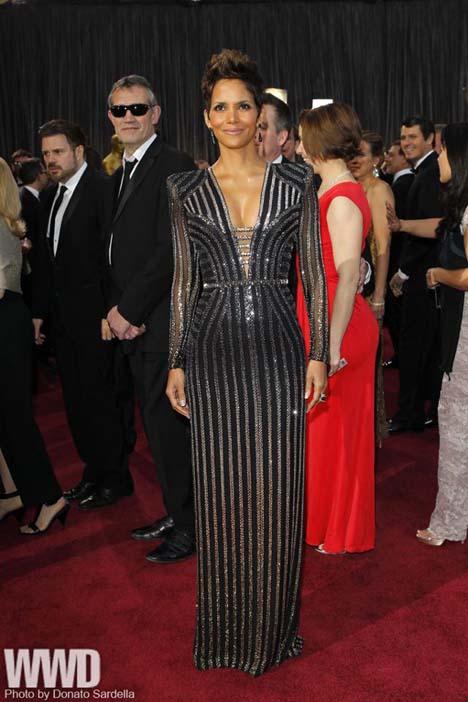 Halle Berry in Versace.