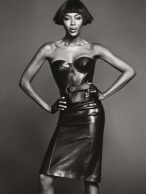 Dress by Michael Kors; belt by Alexander McQueen