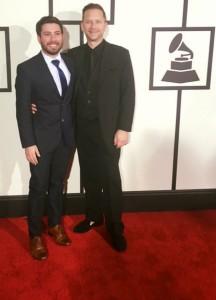 Singer Kenny Miller & Antonio B. In Zara Styling By Victor Navarro