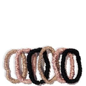 SLIP Pure Silk 6-Pack Skinny Hair Ties_$53 (1)