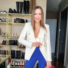 Fashionable influencer