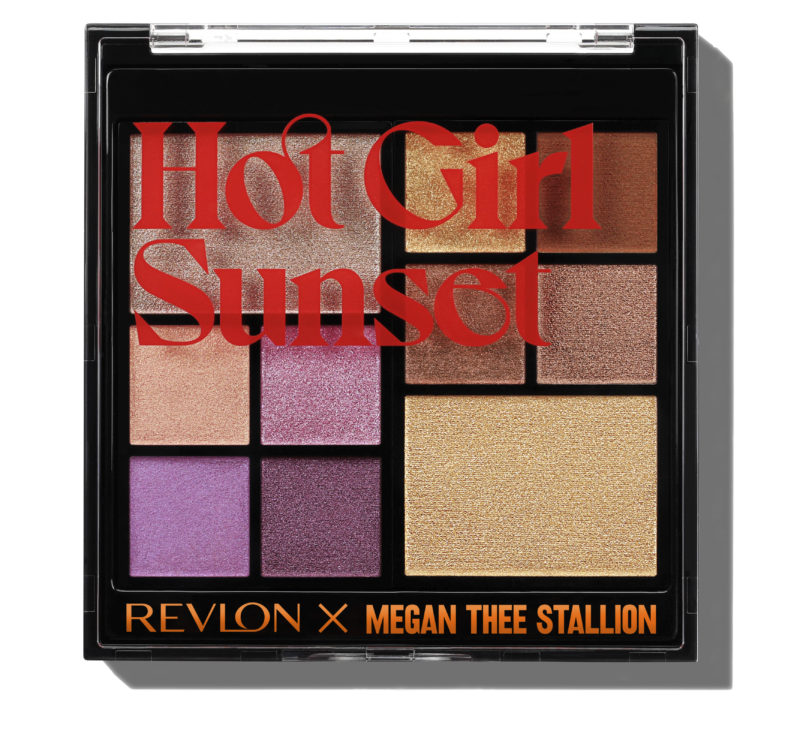 Megan Thee Stallion x Revlon eyeshadow palette