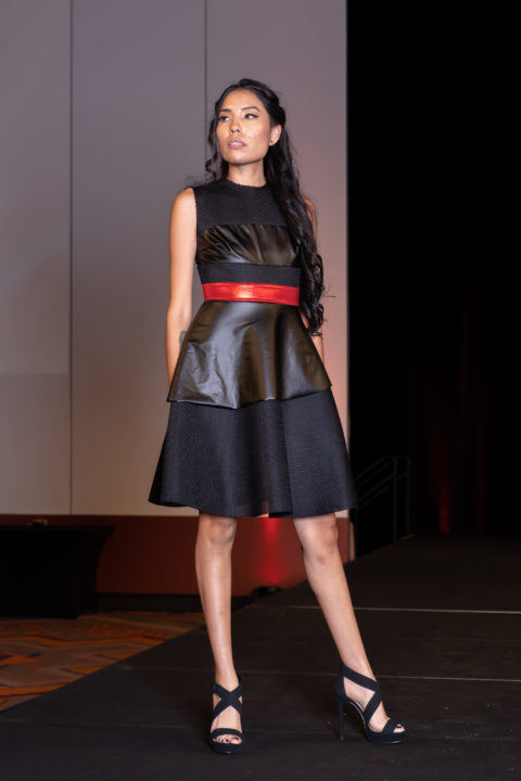 Loren Aragon leather dress