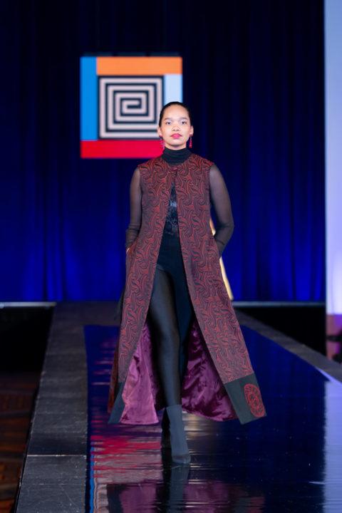 Indigenous red coat Pamela Baker