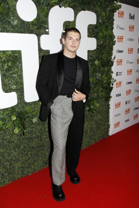 Colton Ryan Dear Evan Hansen TIFF 2021