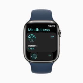 apple watch 7 mindfulness