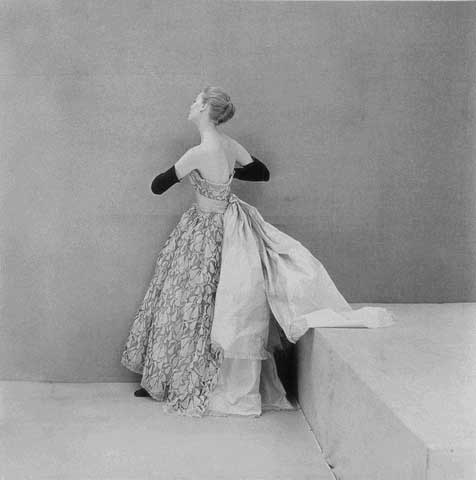 Vintage Balenciaga gown from 1961