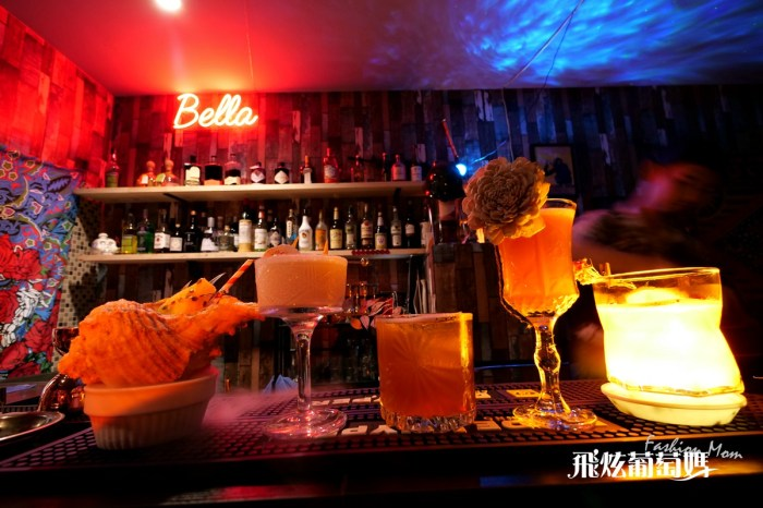 澎湖夜生活|BELLA 調酒專賣所 無招牌隱藏調酒吧 好喝的雞尾酒  我有酒也有故事