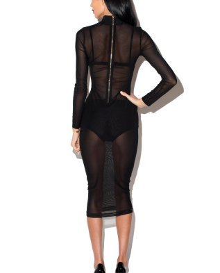 Kourt Mesh Dress Apparel
