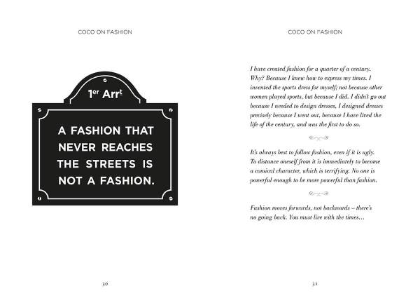 The World According to Coco: The Wit and Wisdom of Coco Chanel inside