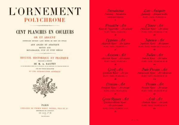 World of Ornaments Table of Contents