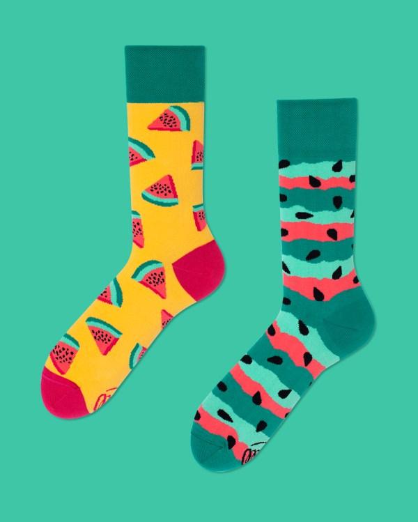 Watermelon Splash Socks
