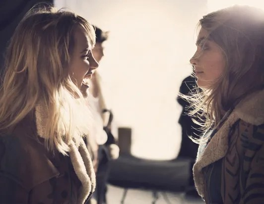 Cara Delevingne and Suki Waterhouse unite for Burberry AW14