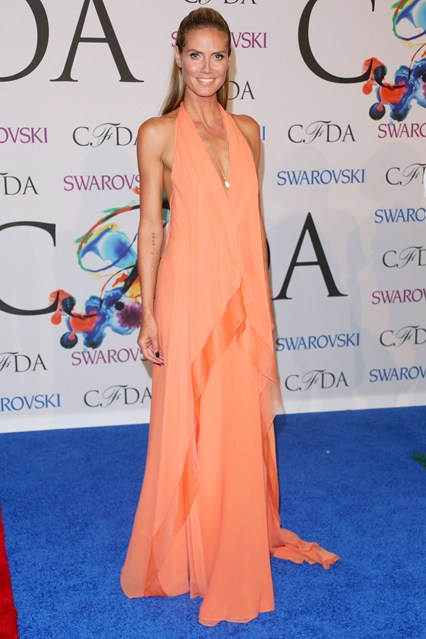 CFDA Awards Winners Heidi-Klum