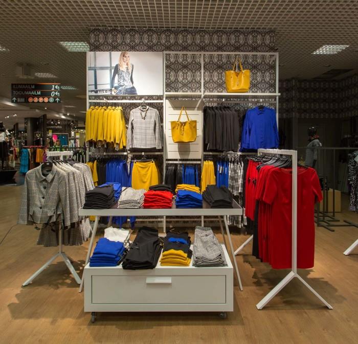Monton opened a shop-in-shop at Tallinn Kaubamaja