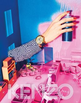Lynch inspired advertisement for Kenzo by Toilet Paper Magazine