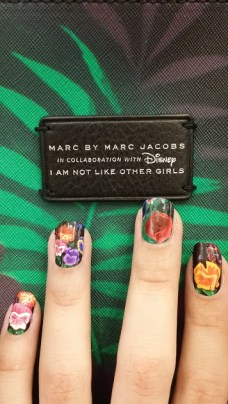 Marc by Marc Jacobs Disney Alice nails not like other girls art