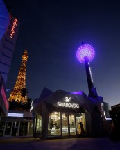 World's First Swarovski Starburst Light Show Spectacular Debuts On Las Vegas Strip. Swarovski Midnight Celebration to Dazzle Shoppers Each Night at New Grand Bazaar Shops at Bally's Las Vegas.