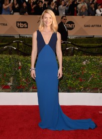 LOS ANGELES, CA - JANUARY 30: Actress Claire Danes attends The 22nd Annual Screen Actors Guild Awards at The Shrine Auditorium on January 30, 2016 in Los Angeles, California. 25650_015 (Photo by Jason Merritt/Getty Images for Turner)