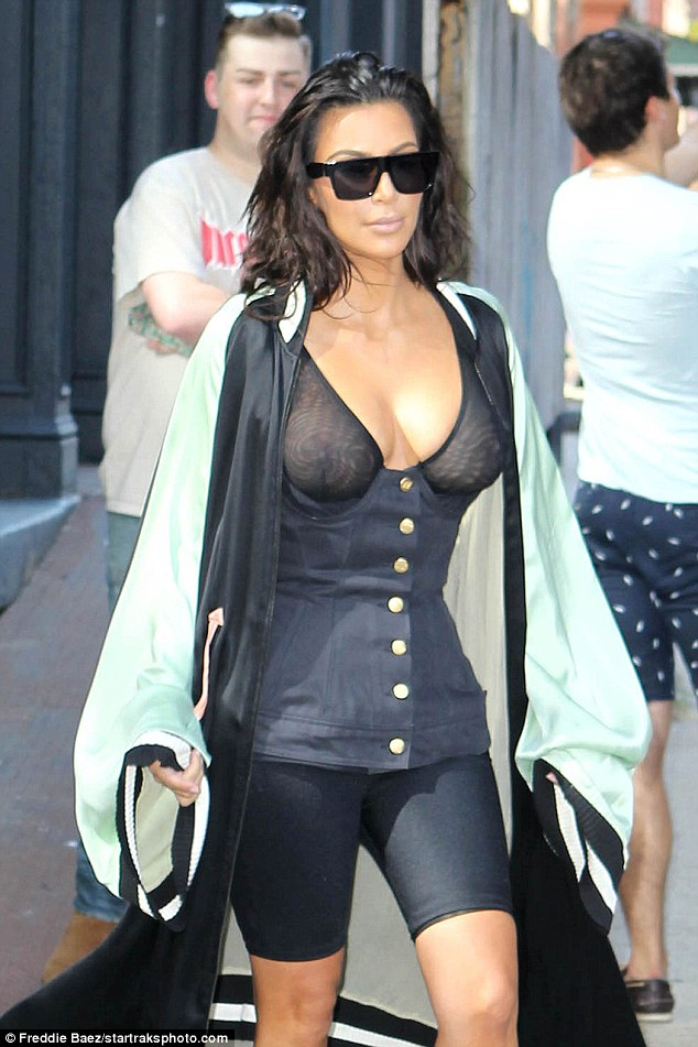 Excellent Kim Kardashians Latest Outfit Is Not What Youd Expect Channelr Short Hairstyles For Black Women Fulllsitofus