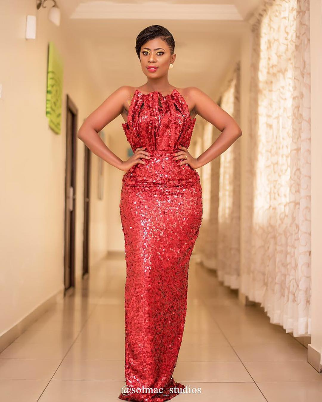 Selorm Galley-Fiawoo Just Blew Us Away With Her Glamorous Shimmering Gown -  FPN