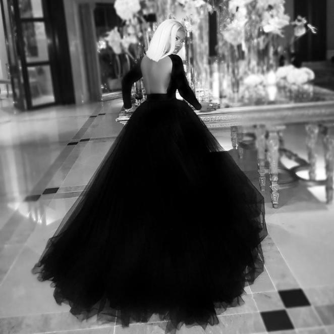 Tiwa Savage AFRIMMA Ball Gown