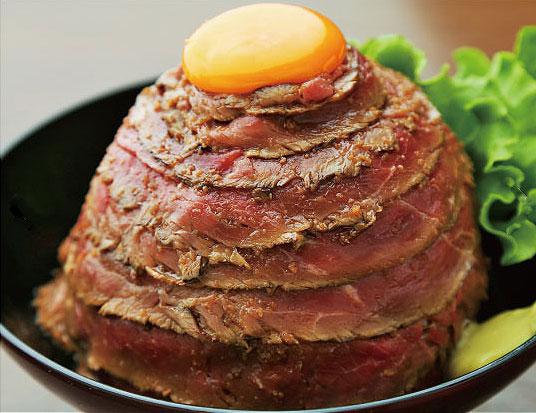 ロースト丼