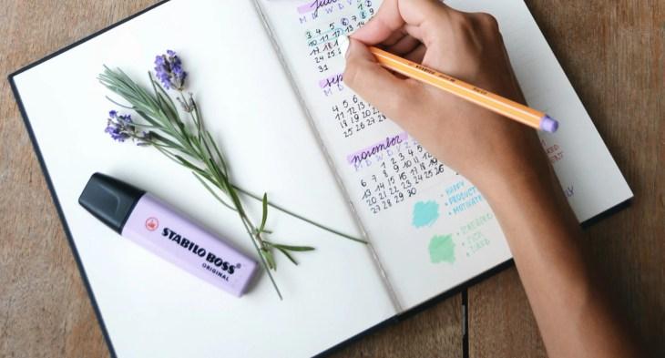 bullet journal, planer, planowanie