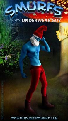 Underwear Costume Gallery: Papa Smurf
