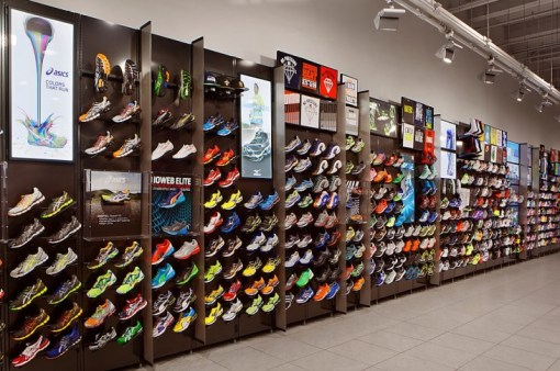 Foot Locker Store Footwear collection assortment fashion retail