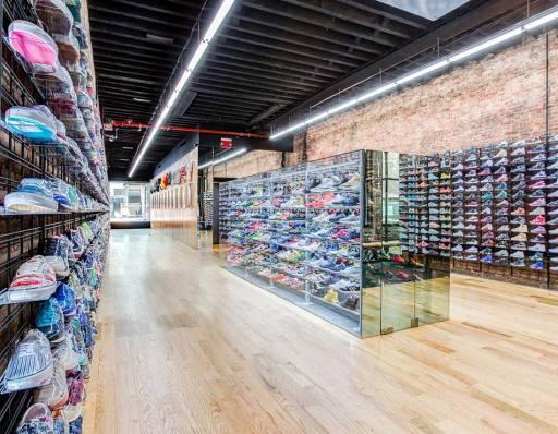 Flight Club retail store NYC