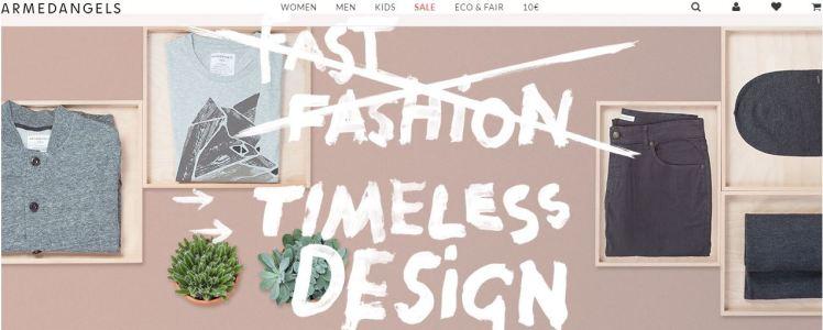 Armedangels sustainable organic fashion brand