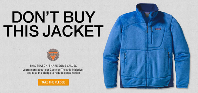 Patagonia Fashion sustainability Dont-Buy-This-Jacket
