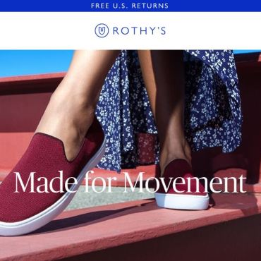 Rothy brand fashion retail game changer innovator long tail