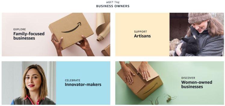 Amazon Storefronts visibility transparency owners suppleirs niche long tail players