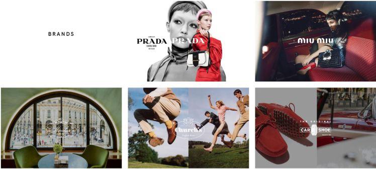 Prada Group Brands