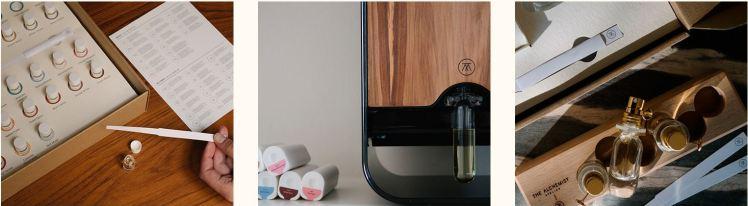 The Alchemist Atelier customization of fragances scent creator
