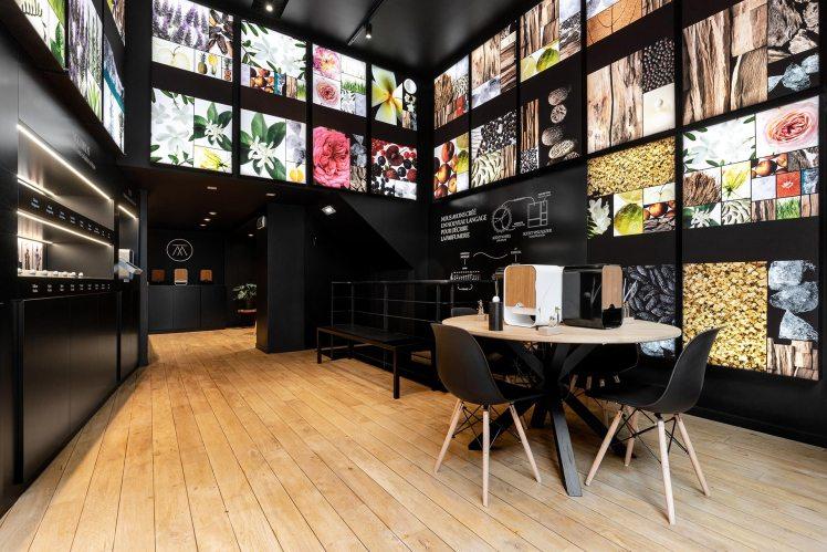 The Atelier the alchemist Puig BSH joint venture store in Paris customized fragrances