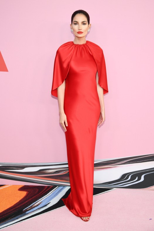 f705eecb05df9 NEW YORK, NEW YORK – JUNE 03: Lily Aldridge attends the CFDA Fashion Awards  at the Brooklyn Museum of Art on June 03, 2019 in New York City.