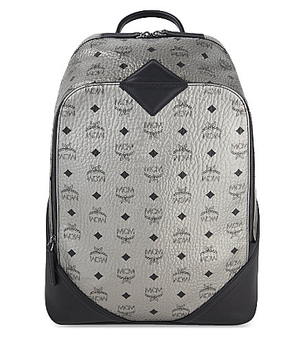 MCM Duke Visetos Medium Backpack