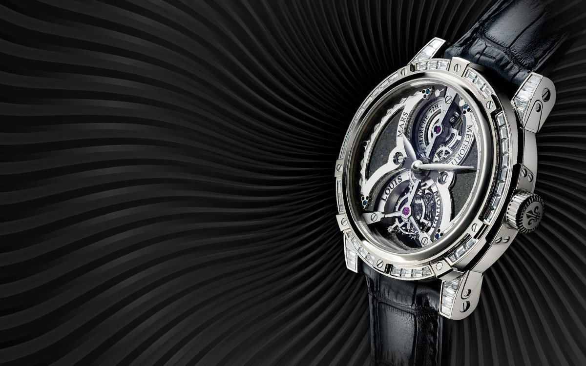 Louis Moinet Meteoris Tourbillon Mars