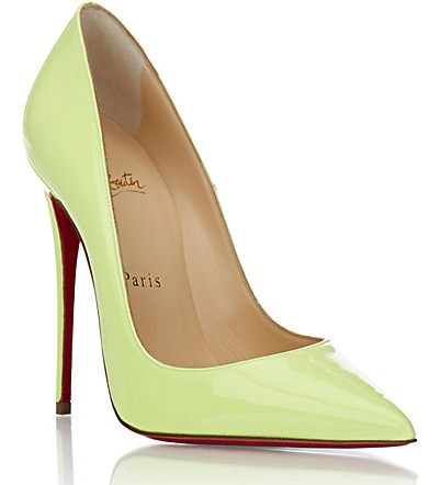 christian louboutin so kate pumps yellow