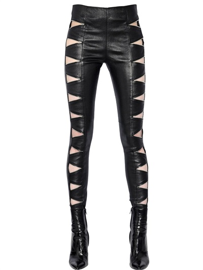 saint-laurent-zip-cut-out-stretch-leather-pants