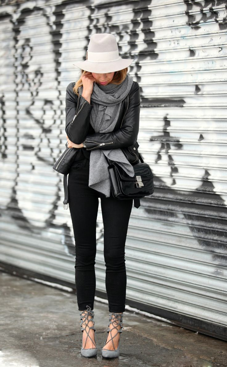 leather-jacket-with-scarf