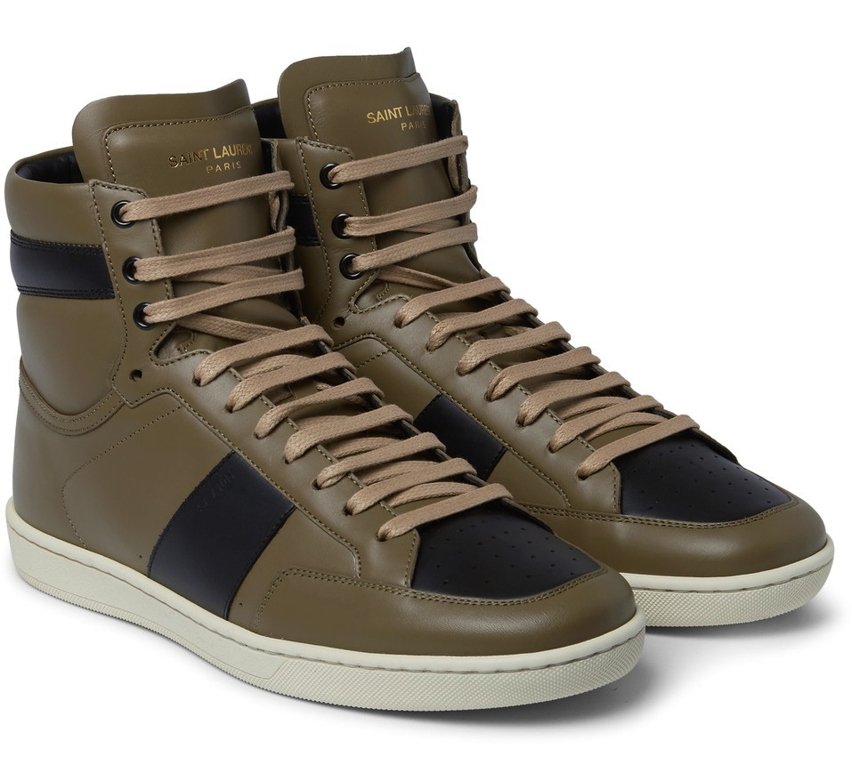 Saint Laurent High Top Sneakers