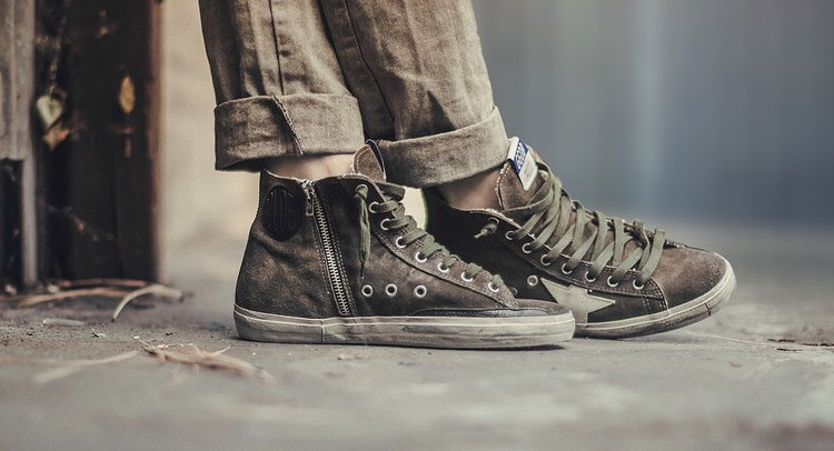 Golden Goose Sneakers For Those Rainy