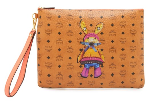 mcm rabbit medium pouch ss16